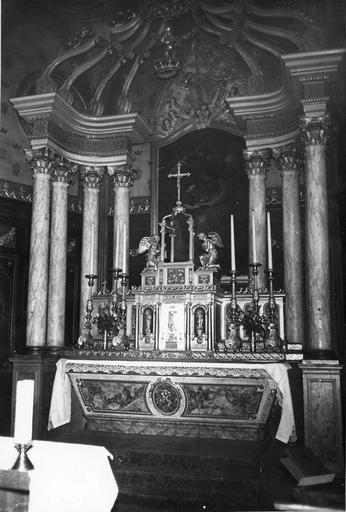 autel et tabernacle, 18e siècle