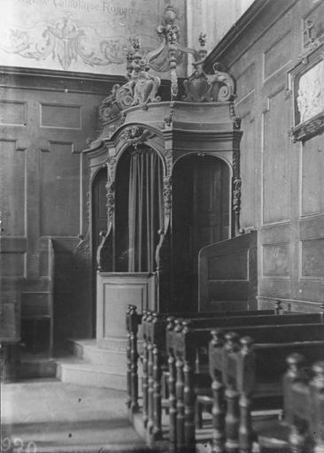 2 confessionnaux, par Fauconnet, bois, 18e siècle