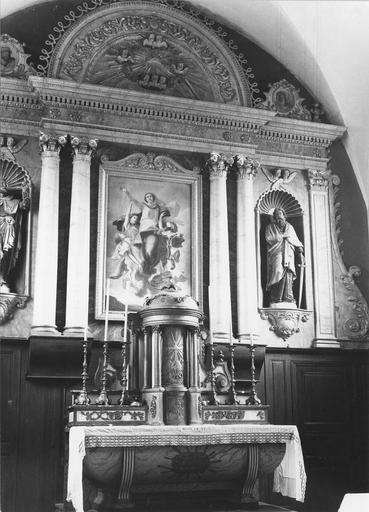 tableau : L'Assomption du maître-autel