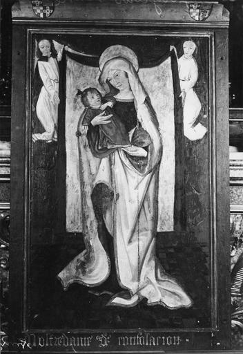 tableau (panneau peint) : Vierge, dite Notre-Dame de consolation, 15e siècle