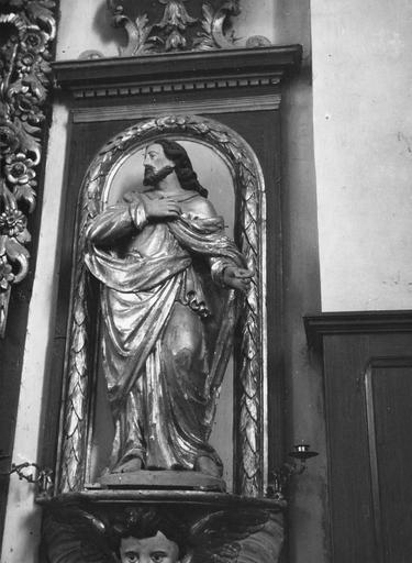 statue : saint Joseph du maître-autel