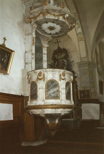 chaire à prêcher, 18e siècle