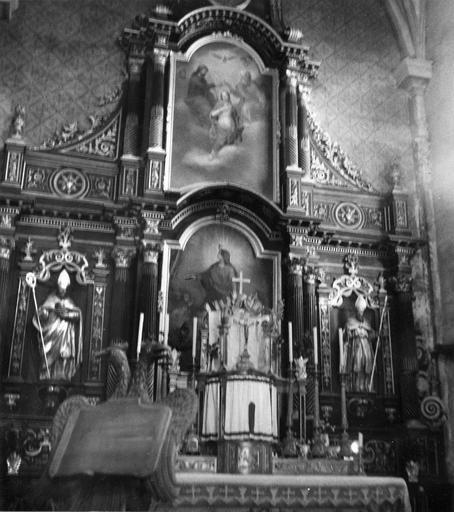maître-autel et retable, 18e siècle