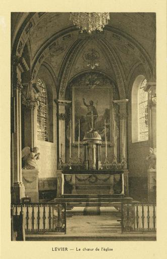 maître-autel et vue d'ensemble du choeur