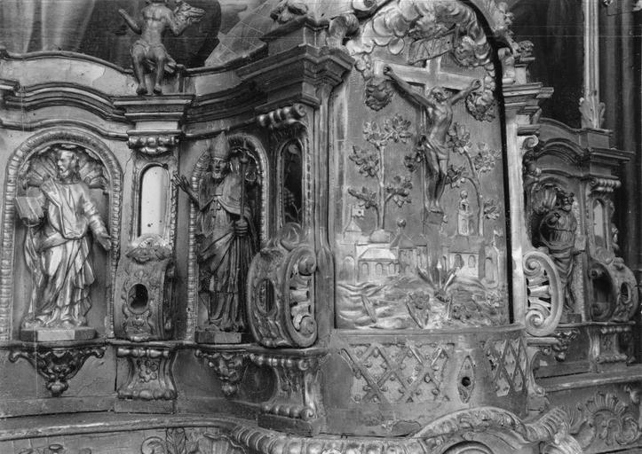 détail du tabernacle, 17e siècle