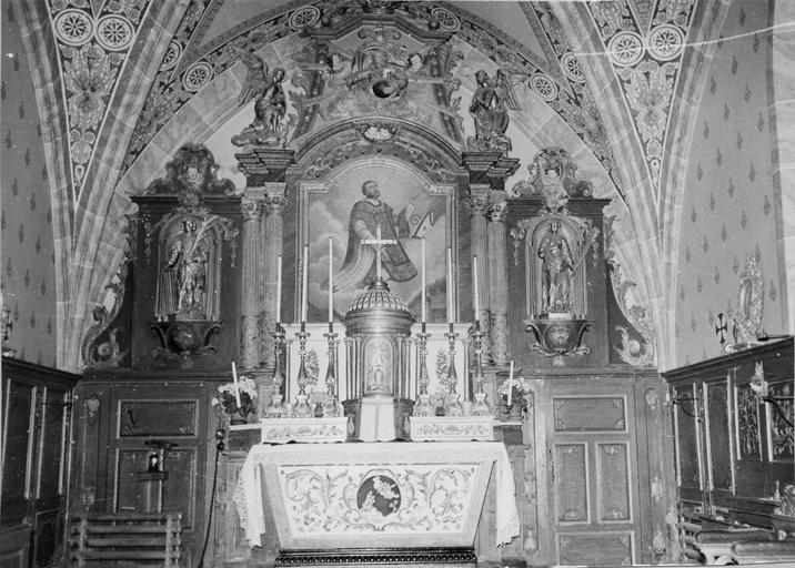 maître-autel, retable, 18e siècle