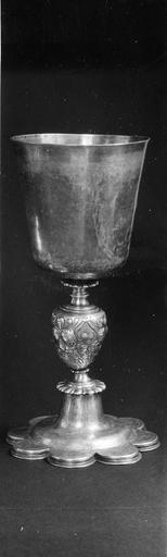coupe de communion du culte protestant, 17e siècle