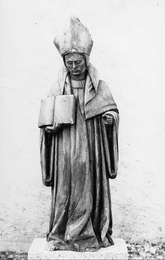 statue : Saint Ursin, bois, fin 15e siècle