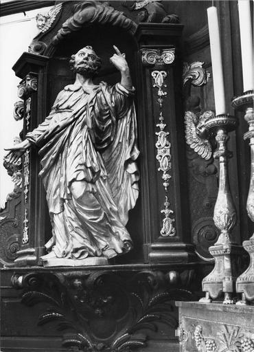 statue du maître-autel