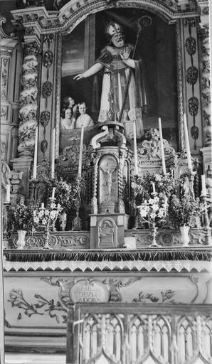 retable du maître-autel, 18e siècle