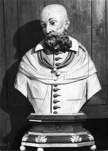 buste-reliquaire : saint François de Sales, 17e siècle
