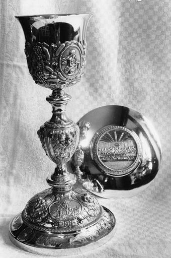 calice et patène, début 19e siècle