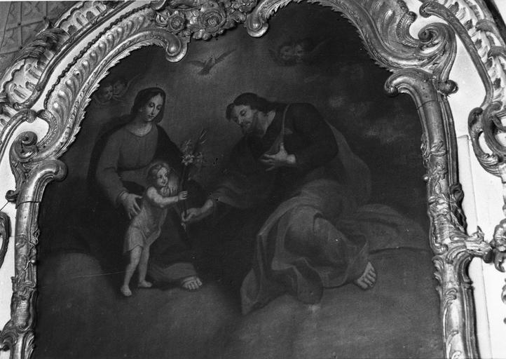 tableau : La Sainte Famille, 18e siècle