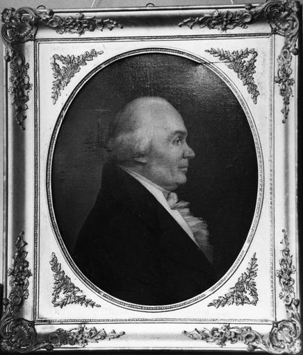 tableau : Portrait de donateur, fin 18e siècle