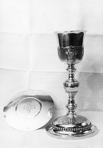 calice, patène, début 19e siècle