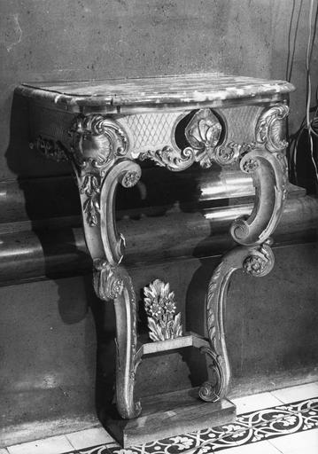 console du 19e siècle