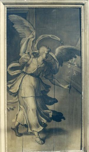 tableau (panneau peint) : L'Ange de l'Annonciation