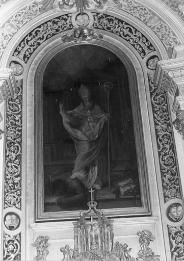 tableau du retable du maître-autel, 18e siècle