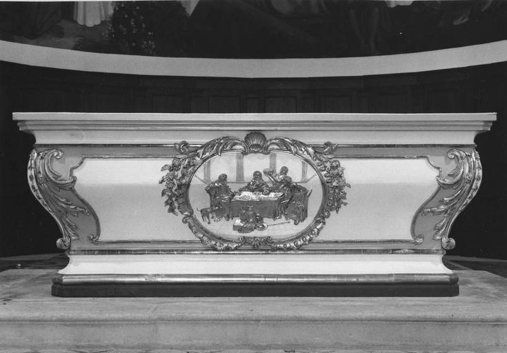 détail de l'autel