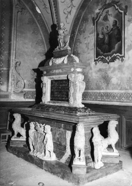 Monument funéraire de Just-Ferdinand de Rye, marquis de Varambon, vue générale