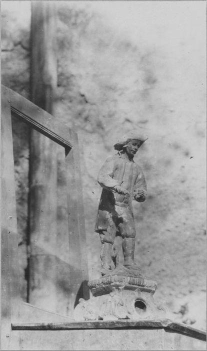 statuette : Saint Vernier, vue générale