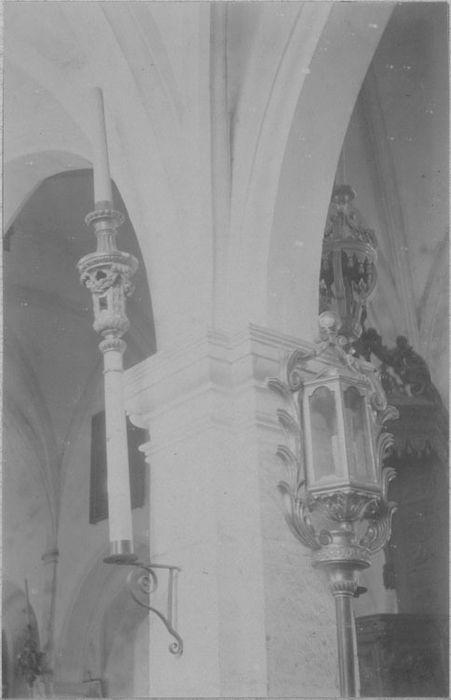 lanterne de procession, bâton de procession, vue générale