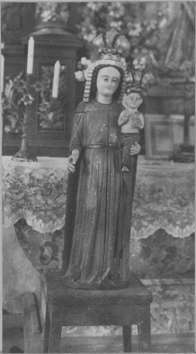 statue ouvrante : Vierge à l'Enfant, vue générale