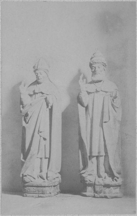 statues : Saint Pierre, Saint Claude, vue générale
