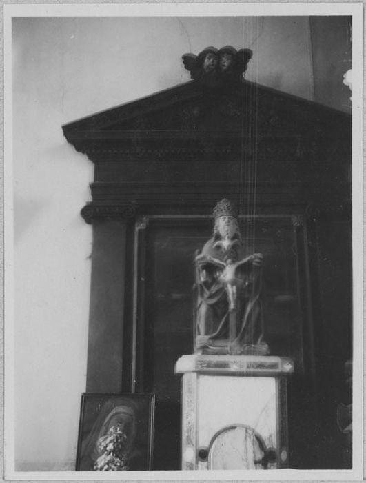 groupe sculpté : La Trinité, vue générale