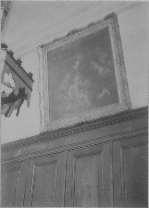 tableau : Le Mariage Mystique de sainte Catherine, cadre, vue générale