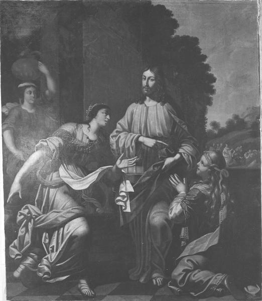 tableau : Christ chez Marthe et Marie (le), vue générale