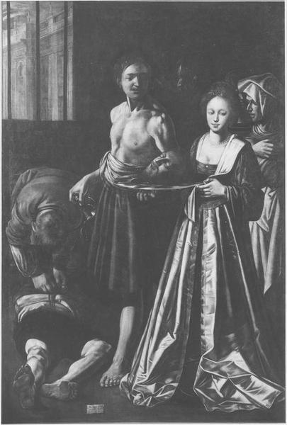 Tableau : La Remise de la tête de saint Jean-Baptiste à Salomé, vue générale