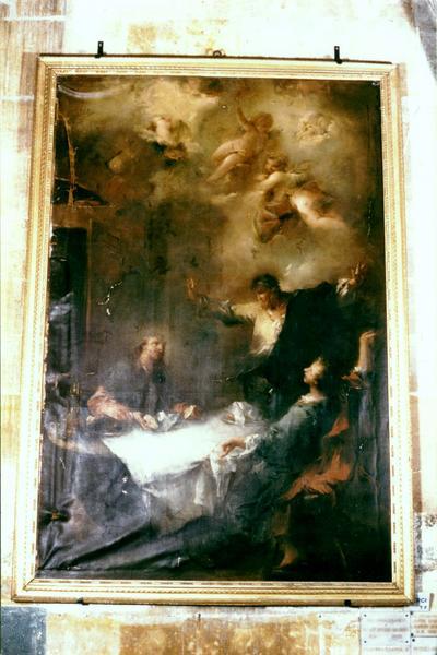 Tableau : Les Pèlerins d'Emmaüs