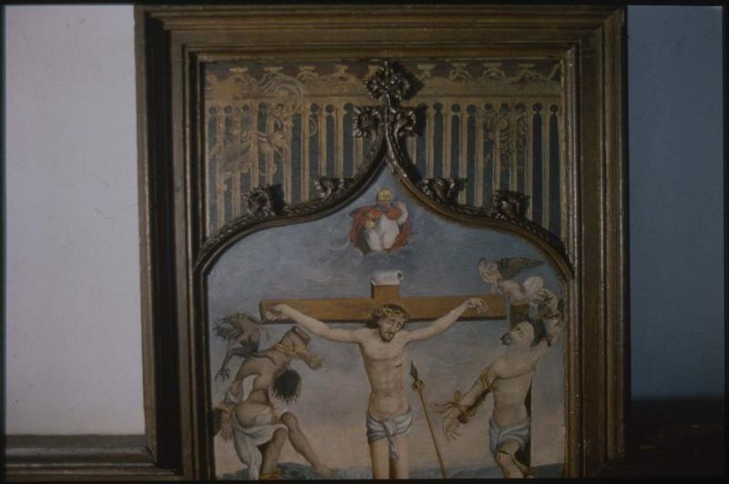 Tableau : la Passion du Christ, détail