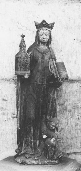 Statuette : Sainte Clotilde