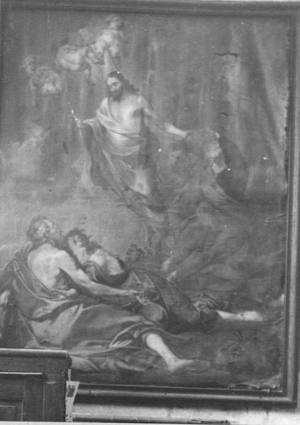 tableau : la Transfiguration, vue générale
