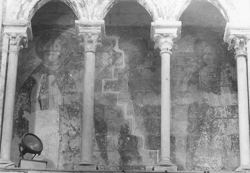 Peintures monumentales : Saints