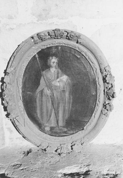 Tableau et son cadre : Saint Thomas