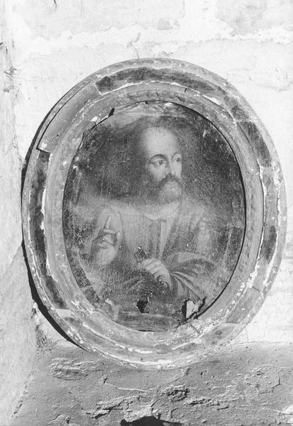 Tableau et son cadre : Saint Pierre