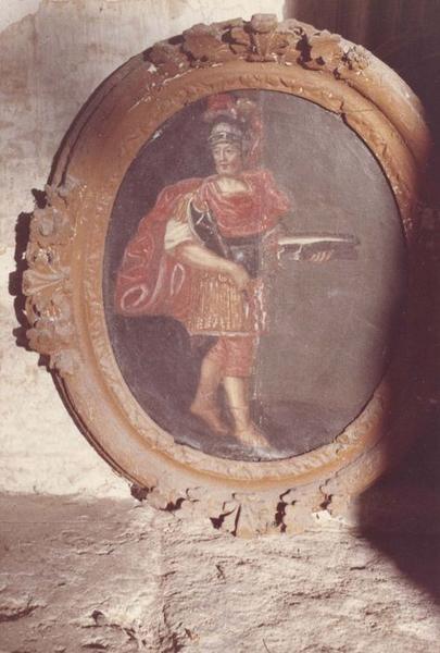 Tableau et son cadre : Saint Adrien
