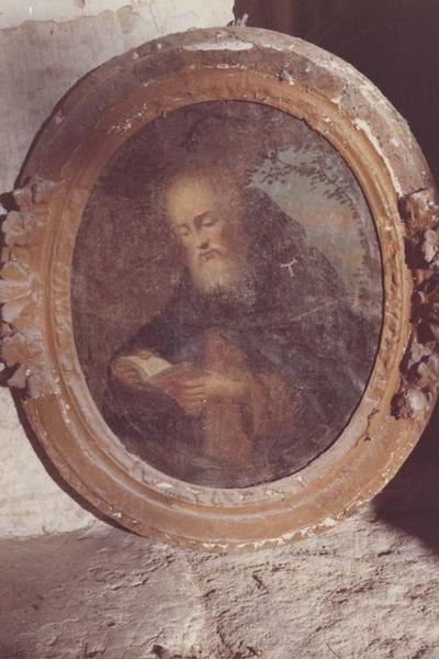 Tableau et son cadre : Saint Antoine de Padoue