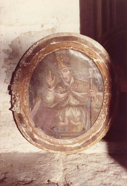 Tableau et son cadre : Saint Nicolas
