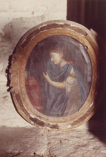 Tableau et son cadre : Sainte Marie-Madeleine