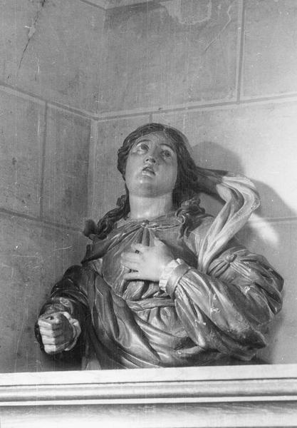 buste-reliquaire de sainte Foy, vue générale