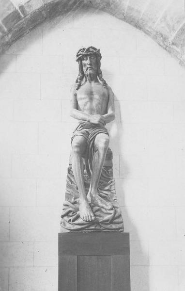 Statue d'applique : Christ aux Liens