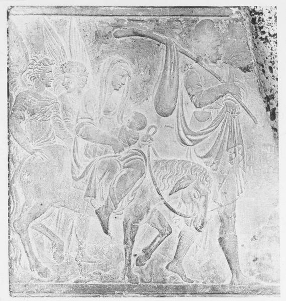 Bas-relief : la Fuite en Egypte