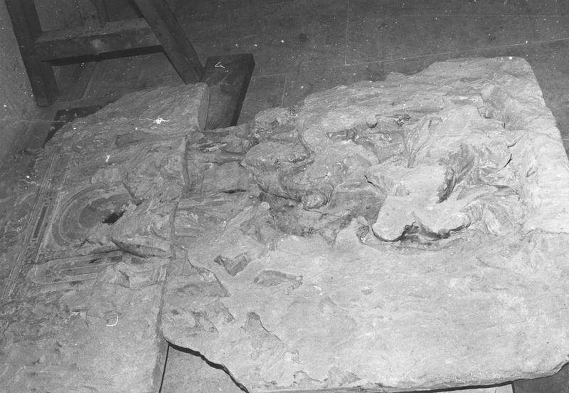 hauts-reliefs (fragments de l'ancien jubé), vue partielle