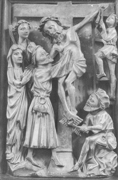 Haut-relief : la Descente de Croix