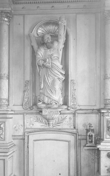 Statue (grandeur nature) : Saint André