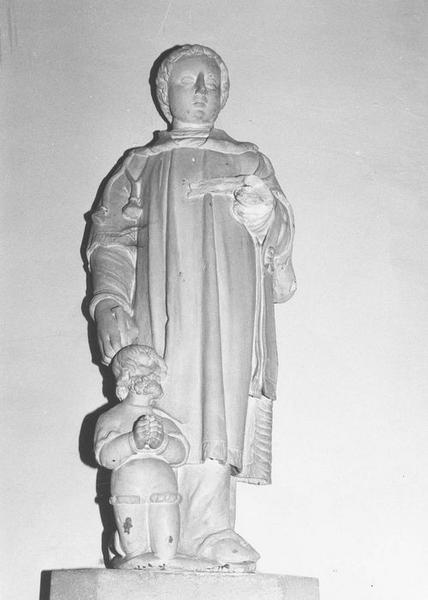 Groupe sculpté : Saint Léonard